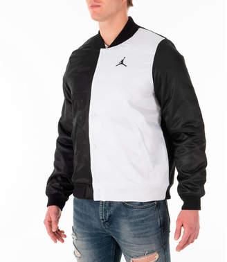 f989cd2e7ff563 Nike Men s Jordan Sportswear Legacy AJ11 Bomber Jacket