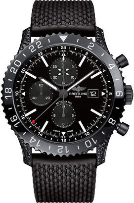 Breitling M24310AN/BF02 256S+M20DSA.4 Chronoliner steel and ceramic automatic chronograph watch