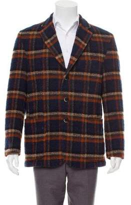 Barena Venezia Wool Plaid Jacket