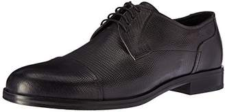 HUGO BOSS HUGO by Men's Temptation Leather Lace up Derby Work Shoe