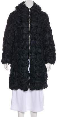 Noir Kei Ninomiya Hooded Puffer Coat