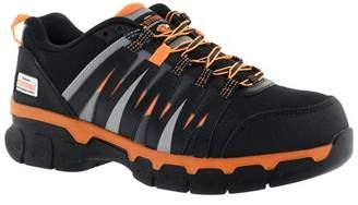 Herman Survivors Professional Series Herman Survivor Professional Series Men's Handler Safety Shoe, ASTM Rated Composite Toe, Slip Resistant, Grey and Orange