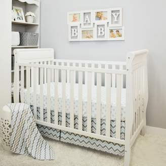 T.L.Care Tl Care TL Care 3-pc. Polka-Dot & Chevron Crib Bedding Set
