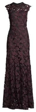 Shoshanna Raven Lace Gown
