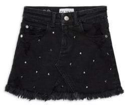 DL Premium Denim Girl's Jenny Denim Skirt