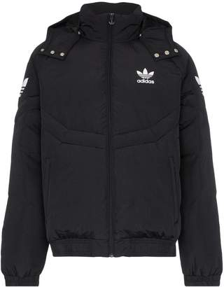 adidas Padded hooded feather down jacket