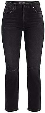 Joe's Jeans Women's Milla Straight Distressed Jeans