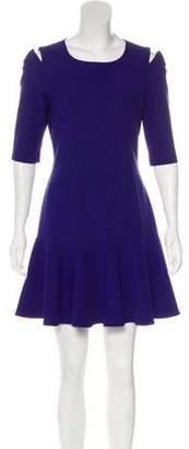 Elizabeth and James Ruffled Cutout Dress Ruffled Cutout Dress