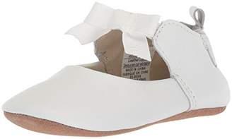 Robeez Girls' Ankle Strap Mary Jane-First Kicks Crib Shoe