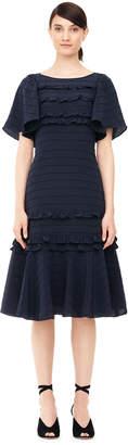 Rebecca Taylor Chiffon & Lace Dress