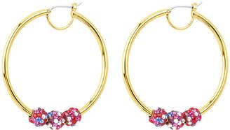 Henri Bendel Bendel Rocks Hoop Earrings