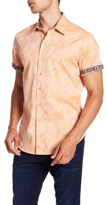 Robert Graham Ungerman Short Sleeve Classic Fit Woven Shirt