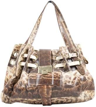 Jimmy Choo Beige Exotic leathers Handbags