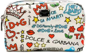 Dolce & Gabbana Mural print make-up bag