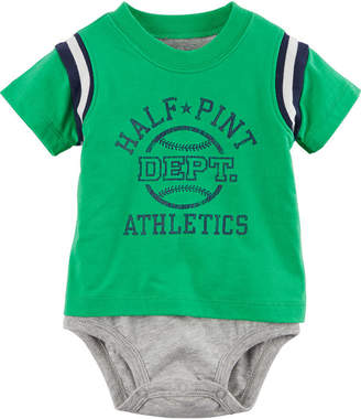 Carter's Short Sleeve 2 Layer Bodysuit - Baby Boy