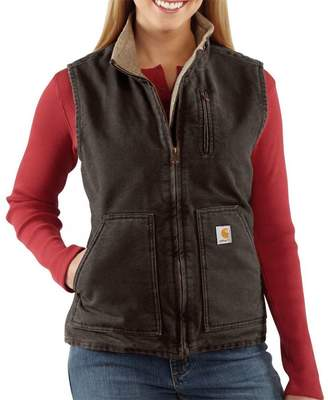 Carhartt Sandstone Mock-Neck Vest - Women's