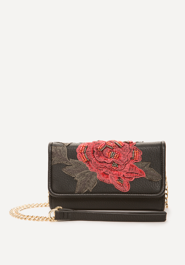 Sofia Embroidered Wallet