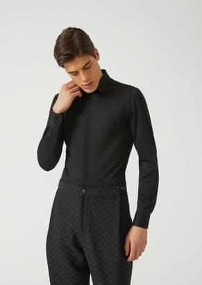 Emporio Armani Stretch Cotton Shirt