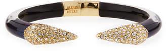Alexis Bittar Pavé Crystal Pyramid Cuff Bracelet $165 thestylecure.com