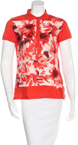 MonclerMoncler Silk Printed Top