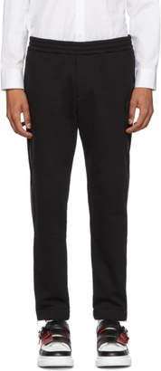 Alexander McQueen Black Mini Skull Zip Lounge Pants