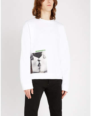DSQUARED2 Mert & Marcus kiss-print cotton-jersey T-shirt