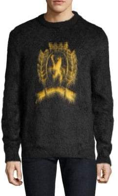 Tommy Hilfiger Edition Fuzzy Wool Crest Sweater