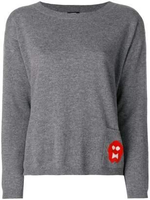 Aspesi patch pocket knit sweater