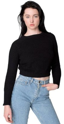 American Apparel Women's Classic Cropped Fisherman Pullover $33.83 thestylecure.com