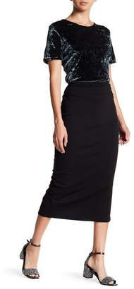 14th & Union Ponte Pencil Skirt