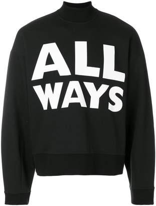 Valentino All Ways sweatshirt
