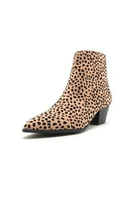 Qupid Mystique Cheetah Bootie