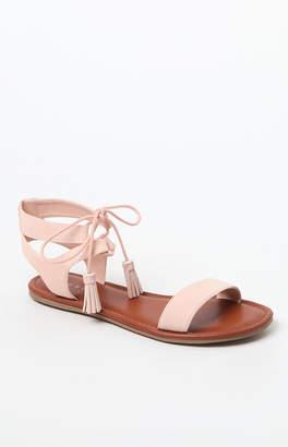 Vans Pacsun Ankle Lace-Up Sandals
