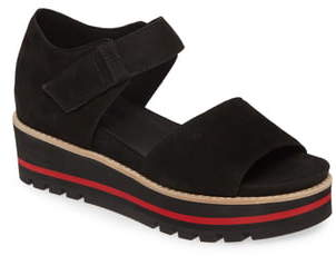 Eileen Fisher Luella Leather Platform Sandal