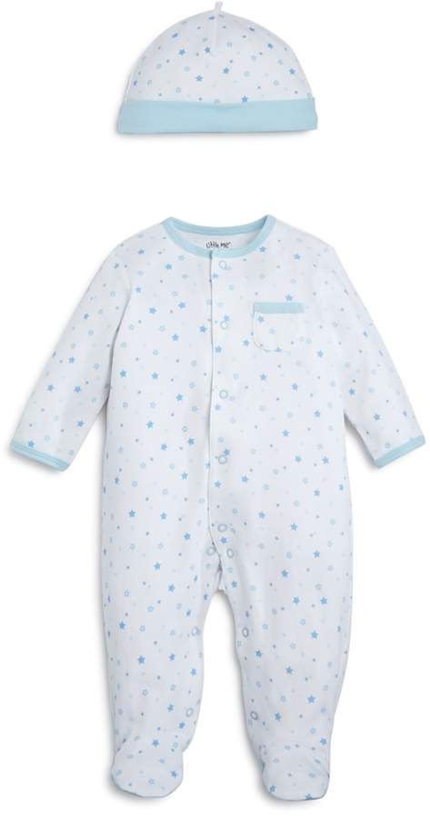 Boys' Star-Print Footie & Cap Set, Baby - 100% Exclusive