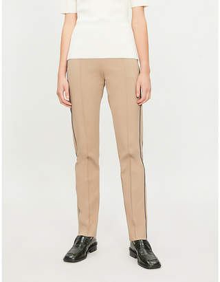 Joseph High-rise straight-leg stretch-jersey jogging bottoms