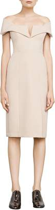 BCBGMAXAZRIA Marquis Off-The-Shoulder Dress