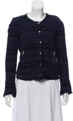 IRO Long Sleeve Tweed Jacket
