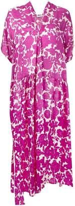 Christian Wijnants floral-print asymmetric dress