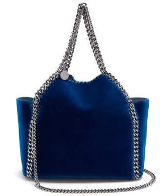 Stella Mccartney - Falabella Mini Reversible Tote Bag - Womens - Dark Blue