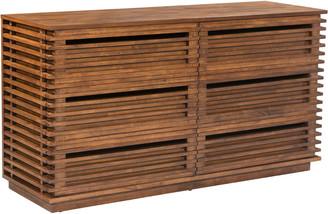 ZUO Linea Double Dresser
