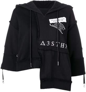 Diesel asymmetric hoodie