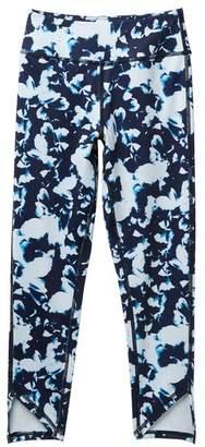 Zella Z by Print High Waist Stacked Hem Pants (Little Girls & Big Girls)