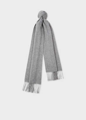 Paul Smith Grey Cashmere Scarf