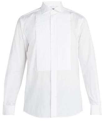 Ralph Lauren Purple Label Cotton Poplin Dinner Shirt - Mens - White