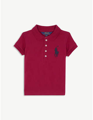 Ralph Lauren Large logo cotton polo shirt 2-6 years