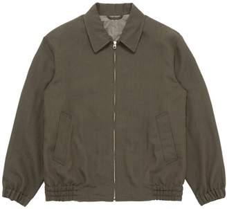 Camoshita Stripe herringbone shirt jacket