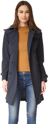 Woolrich W's Fayette Trench Coat $495 thestylecure.com
