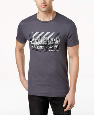 Kenneth Cole New York Men's Cityscape Graphic-Print T-Shirt