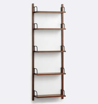 Rejuvenation Hart Modular Walnut Shelving Unit